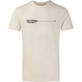 tentree Cove Classic Camiseta Hombre, blanco